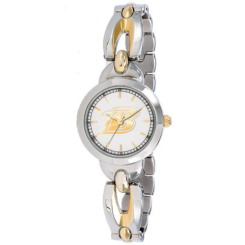 Baltimore Ravens Stainless Steel and Gold Ladies GameTime Elegance Watch