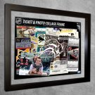 Buffalo Sabres Floating Photo and Ticket Collage Frame