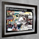 Colorado Avalanche Floating Photo and Ticket Collage Frame