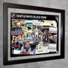 Los Angeles Kings Floating Photo and Ticket Collage Frame