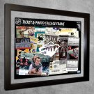 Minnesota Wild Floating Photo and Ticket Collage Frame