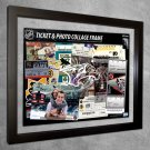 Nashville Predators Floating Photo and Ticket Collage Frame