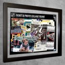 Phoenix Coyotes Floating Photo and Ticket Collage Frame