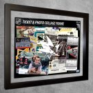 San Jose Sharks Floating Photo and Ticket Collage Frame