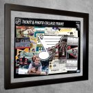 St. Louis Blues Floating Photo and Ticket Collage Frame