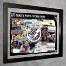 Tampa Bay Lightning Floating Photo and Ticket Collage Frame