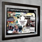Toronto Maple Leafs Floating Photo and Ticket Collage Frame
