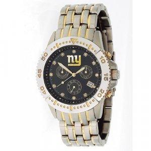 New York Giants GameTime Legend Diamond and Steel Watch GIFT