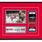 Washington Capitals My First Game Hockey Ticket Photo Frame