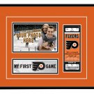 Philadelphia Flyers My First Game Hockey Ticket Photo Frame