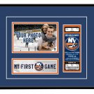 New York Islanders My First Game Hockey Ticket Photo Frame