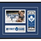 Toronto Maple Leafs My First Game Hockey Ticket Photo Frame