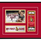 Ottawa Senators My First Game Hockey Ticket Photo Frame