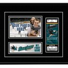 San Jose Sharks My First Game Hockey Ticket Photo Frame