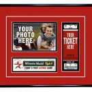 Houston Astros Personalized My First Game Baseball Ticket Photo Frame