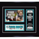 Florida Marlins Personalized My First Game Baseball Ticket Photo Frame
