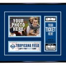 Tampa Bay Rays Personalized My First Game Baseball Ticket Photo Frame
