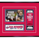 Minnesota Twins Personalized My First Game Baseball Ticket Photo Frame
