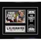 Chicago White Sox Personalized My First Game Baseball Ticket Photo Frame