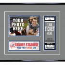 New York Yankees Personalized My First Game Baseball Ticket Photo Frame