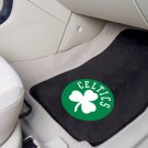 Boston Celtics Carpet Car Mats Set