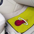 Miami Heat Carpet Car Mats Set