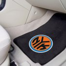 New York Knicks Carpet Car Mats Set
