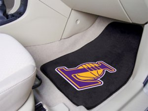 Los Angeles Lakers Carpet Car Mats Set