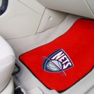 New Jersey Nets Carpet Car Mats Set
