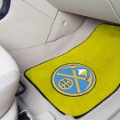 Denver Nuggets Carpet Car Mats Set