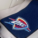 Oklahoma City Thunder Carpet Car Mats Set