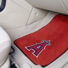 Los Angeles Angels Carpet Car Mats Set