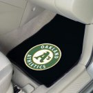 Oakland A's Athletics Carpet Car Mats Set