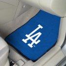 Los Angeles Dodgers Carpet Car Mats Set