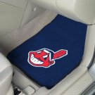 Cleveland Indians Carpet Car Mats Set