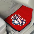 Washington Nationals Carpet Car Mats Set