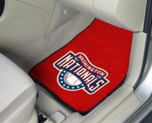 Washington Nationals Carpet Car Mats Set