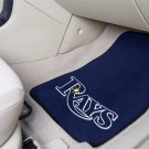 Tampa Bay Rays Carpet Car Mats Set