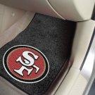 San Francisco 49ers Carpet Car Mats Set