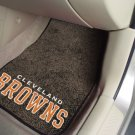 Cleveland Browns Carpet Car Mats Set