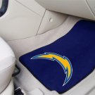 San Diego Chargers Carpet Car Mats Set