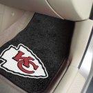 Kansas City Chiefs Carpet Car Mats Set