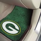 Green Bay Packers Carpet Car Mats Set