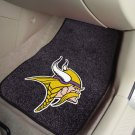 Minnesota Vikings Carpet Car Mats Set