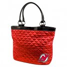 New Jersey Devils Littlearth Quilted Tote Bag Purse