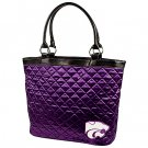 Kansas State University KSU Wildcats Littlearth Quilted Tote Bag Purse