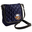 NY New York Islanders Littlearth Quilted Cross-Body Purse Bag