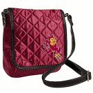 Arizona State University Sun Devils Littlearth Quilted Cross-Body Purse Bag