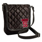 North Carolina NC State University Wolfpack Littlearth Quilted Cross-Body Purse Bag