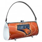 Charlotte Bobcats Littlearth Fender Flair Purse Bag Swarovski Crystals